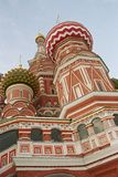 St. Basil Cathedral In Moscow, Russia. St. basil cathedral on the red square in moscow russia Royalty Free Stock Image