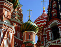St. Basil Cathedral, Moscow,Russia. Details of St. Basil Cathedral royalty free stock photos