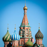 St. Basil Cathedral, Moscow, Russia. Stock Photos