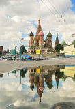 St.Basil cathedral in Moscow Stock Photo