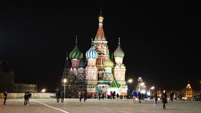 St. Basil Cathedral stock video