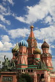 St. Basil Cathedral. Moscow, Russia, Red Square Royalty Free Stock Image