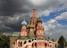 St. Basil Cathedral. Moscow, Russia, Red Square Stock Images