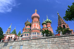 St. Basil Cathedral. Moscow, Russia, Red Square Stock Photo