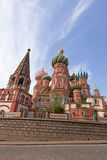 St. Basil Cathedral. Moscow, Russia, Red Square Stock Photography