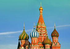 St Basil Cathedral In Moscow Russie Photographie stock libre de droits