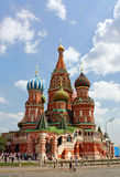 St. Basil Cathedral in Moscow Stock Image