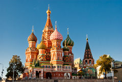 St. Basil Cathedral, Moskau Stockfoto
