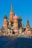 St. Basil Cathedral in Moskau Lizenzfreie Stockfotografie
