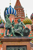 St. Basil Cathedral in Moskau, Russland Stockbilder