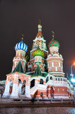 St. Basil Cathedral [at night] 4 Stock Photography