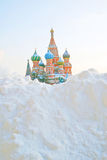 St Basil Cathedral, place rouge, Moscou Photographie stock