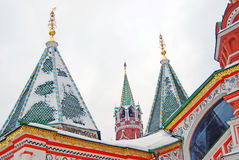 St Basil Cathedral, place rouge, Moscou Photos stock