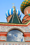 St Basil Cathedral, place rouge, Moscou, Russie. Photo stock