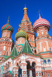 St Basil Cathedral, place rouge, Moscou, Russie. Photographie stock