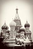 St. Basil Cathedral, Plaza Roja, Moscú, Rusia. Mundo de la UNESCO él Imágenes de archivo libres de regalías