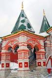 St. Basil Cathedral, quadrado vermelho, Moscou, Rússia.  Imagens de Stock Royalty Free