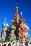 St. Basil Cathedral, quadrado vermelho, Moscou, Rússia. Imagem de Stock Royalty Free