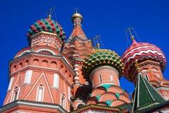St. Basil Cathedral, quadrado vermelho, Moscou, Rússia. Foto de Stock