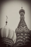 St. Basil Cathedral, quadrado vermelho, Moscou, Rússia. Mundo do UNESCO ele Imagens de Stock Royalty Free