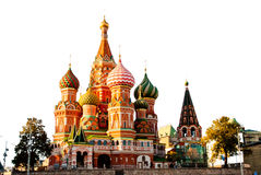 St. Basil Cathedral, Red Square stock images