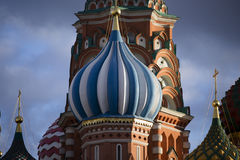 St. Basil Cathedral, Red Square, Moscow Royalty Free Stock Photography