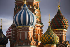 St. Basil Cathedral, Red Square, Moscow Stock Photo