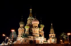 St. Basil Cathedral, Red Square, Moscow, Russia Stock Image