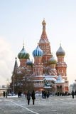 St. Basil Cathedral, Red Square, Moscow, Russia.  Stock Photos