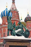 St. Basil Cathedral, Red Square, Moscow, Russia. UNESCO World He Stock Images