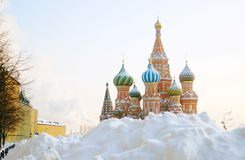 St. Basil Cathedral, Red Square, Moscow, Russia. UNESCO World He Stock Image