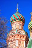 St. Basil Cathedral, Red Square, Moscow, Russia. UNESCO World Heritage Site Stock Photography
