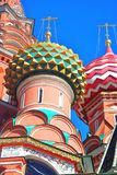 St. Basil Cathedral, Red Square, Moscow, Russia. Royalty Free Stock Photos