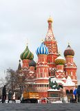 St. Basil Cathedral, Red Square, Moscow, Russia. UNESCO World He Royalty Free Stock Image