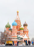 St. Basil Cathedral, Red Square, Moscow, Russia.  Royalty Free Stock Image