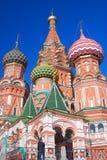 St. Basil Cathedral, Roter Platz, Moskau, Russland. Stockfotografie