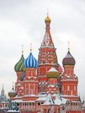 St. Basil Cathedral, Roter Platz, Moskau, Russland. UNESCO-Welt er Lizenzfreie Stockbilder