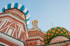 St Basil Cathedral Stock Photography