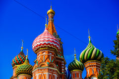 St. Basil church Royalty Free Stock Images