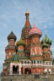 St-Basil church in Moscow in Russia Stock Images