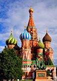 St. Basil church on Red Square Stock Images