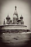 St. basil katedra, plac czerwony, Moskwa, Rosja. Fotografia Stock