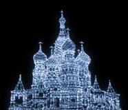St.Basil Kathedraal Royalty-vrije Stock Fotografie
