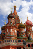 St.Basil Kathedrale in Moskau Stockbild