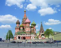 St.Basil Kathedrale, Moskau Lizenzfreie Stockbilder