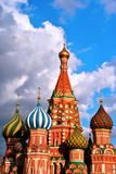 St Basil,Moscow Royalty Free Stock Photo