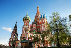 St. basil moscow Royalty Free Stock Photo