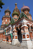 St Basil's Cathderal on Red Square, Moscow Royalty Free Stock Photo