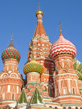St. Basil's cathedral. In Moscow, Russia Royalty Free Stock Photos