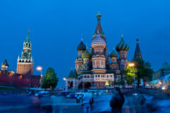 St. Basil's Cathedral. Moscow, Red Square, St. Basil's Cathedral Royalty Free Stock Photography